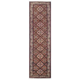 Vintage Persian Malayer Rug - 3'2''x13'9''