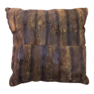 Mink Fur Pillow