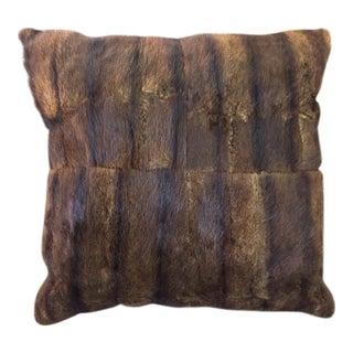 Mink Fur Pillow