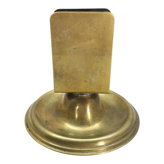 Weighted Brass Matchbook Holder