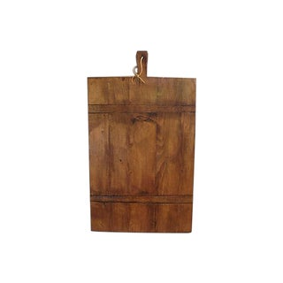 Large Antique French Bread Cutting Culinary Board
