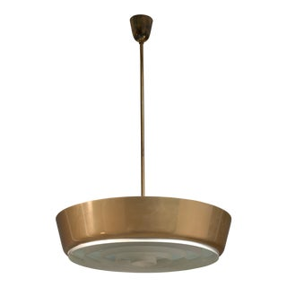 Large Lisa Johansson-Pape Pendant Lamp for Orno, Finland, 1950s