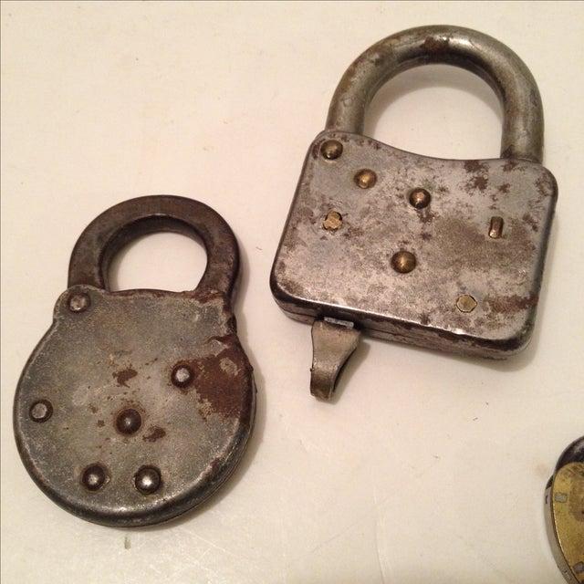 Assorted Antique Locks - Set of 5 - Image 5 of 6