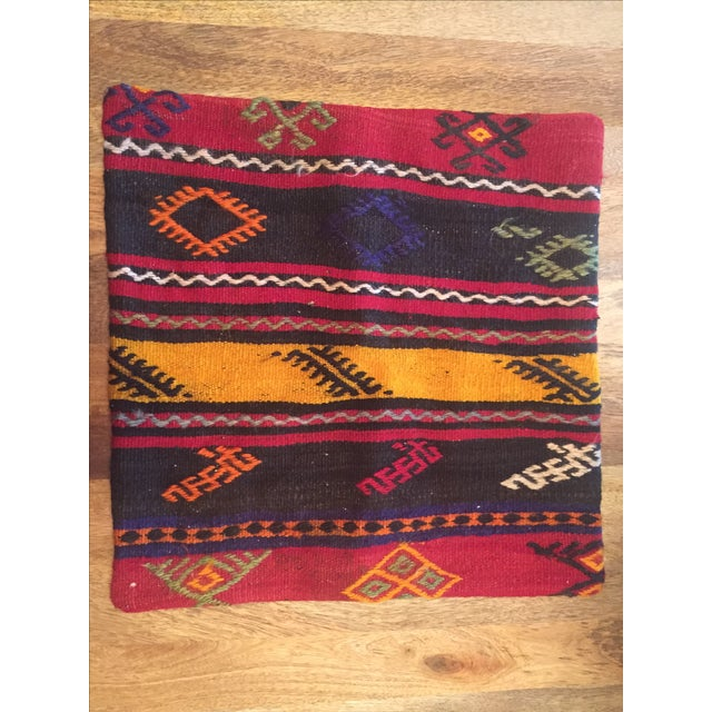 Turkish Kilim Pillow - Image 2 of 4