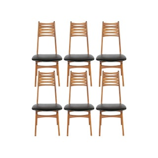 Vintage 1950 Kofod-Larsen Dining Chairs - Set of 6