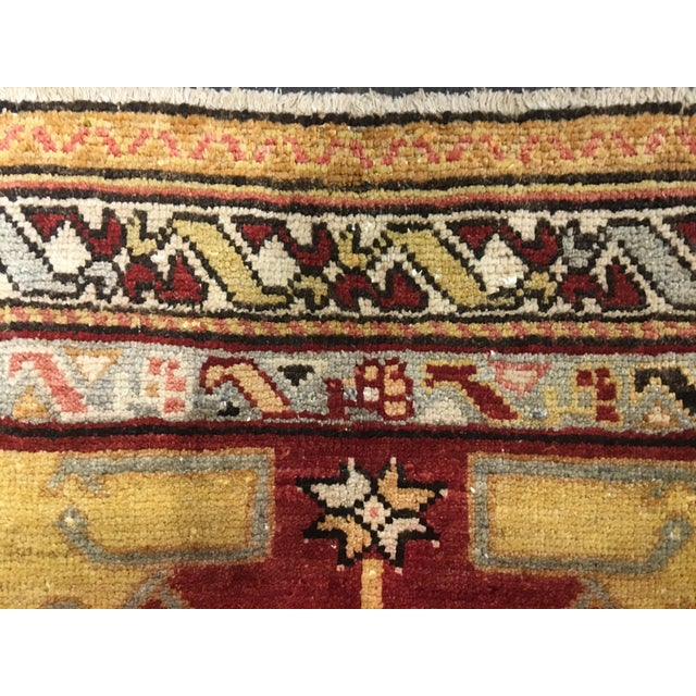 "Bellwether Rugs Vintage Turkish Oushak Rug - 5'9""x8'9"" - Image 8 of 9"
