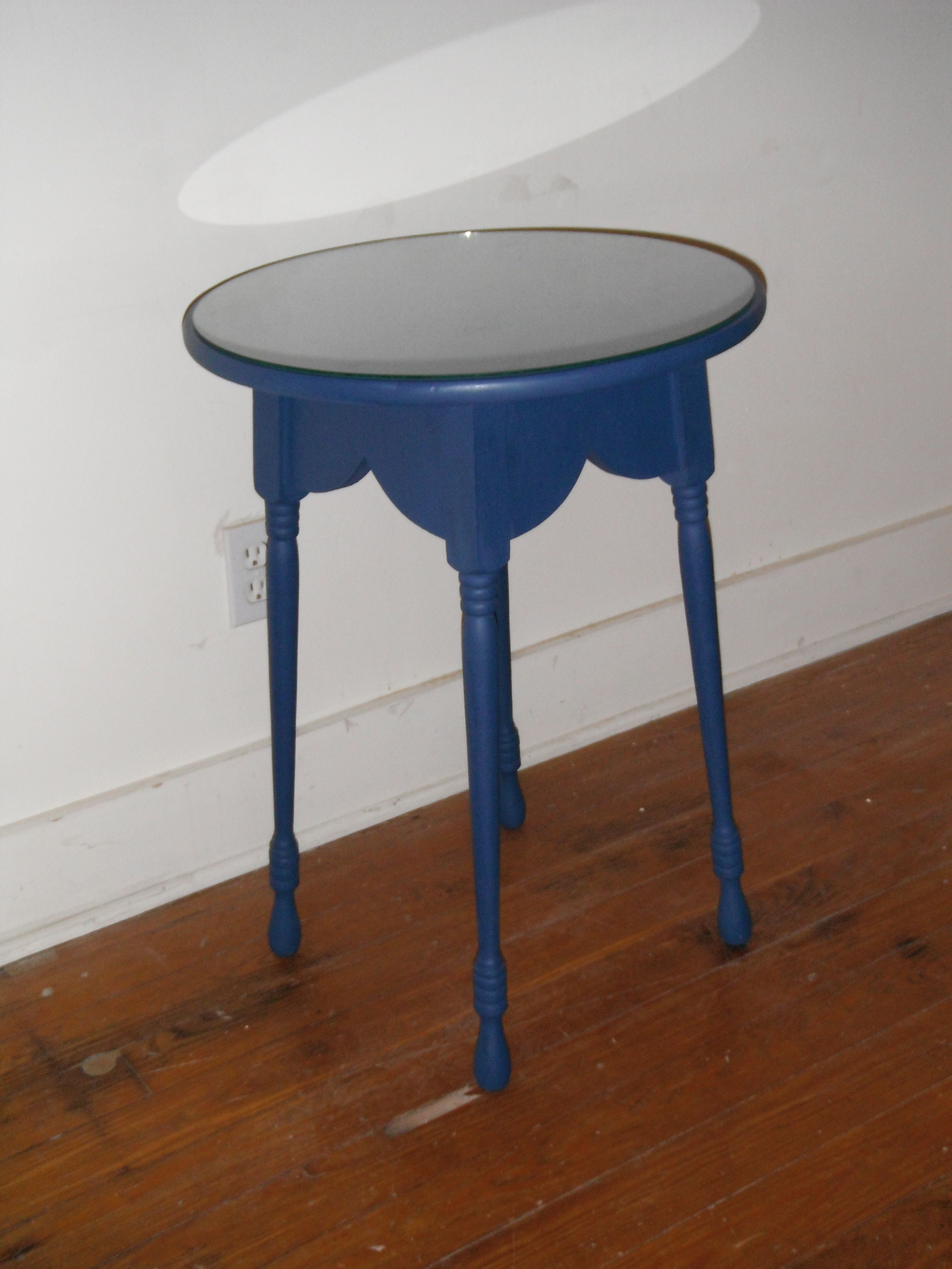 Exceptional Image Of French Country Round Butler Accent Table