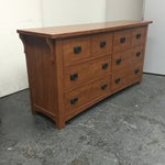 Image of Six Drawer Mission Style Dresser