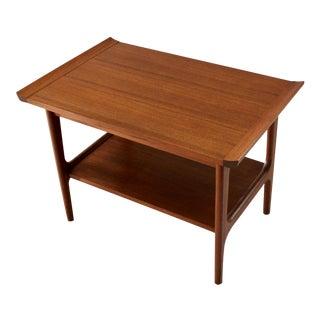 1960s Japanese Modern Teak End Table, Finn Juhl Style