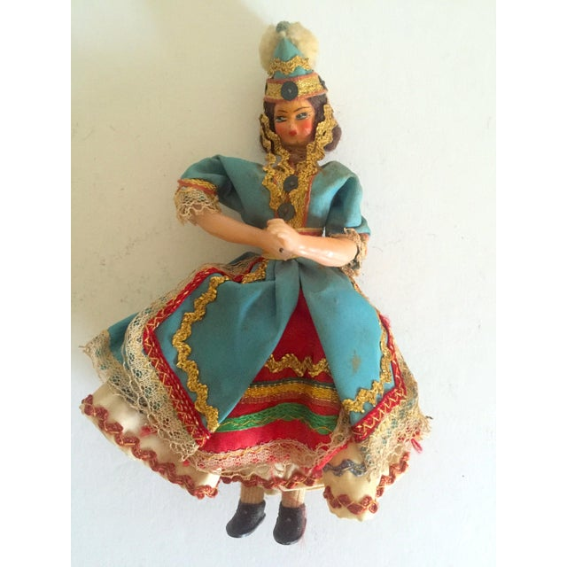 1950's Vintage Handcrafted Spanish Gypsy Souvenir Dolls- Set of 3 - Image 9 of 11