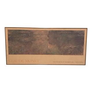 Claude Monet MoMA Poster