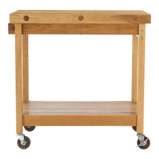 Bill Saunders Chopping Block Utility Cart