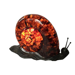 Translucent Penshell Snail by Maitland Smith Table Lamp