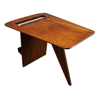 Jens Risom T539 Walnut Magazine Table