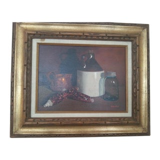 Original Vintage Still Life Painting
