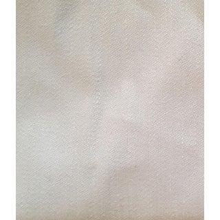 Ralph Lauren Useful White Linen Sateen Fabric - 8 Yards