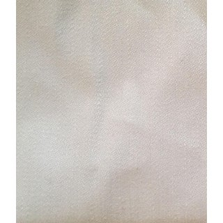 Ralph Lauren Useful White Linen Sateen Fabric - 5 Yards
