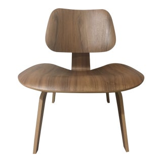 Eames Molded Plywood Lounge Chair LCW Walnut