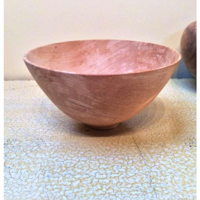 Image of Gene Pozzesi Hand Turned Elegant Wood Bowl