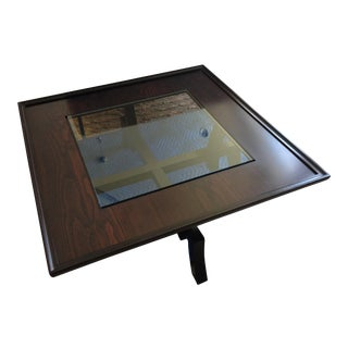 Roche Bobois Dark Cherry Coffee Table