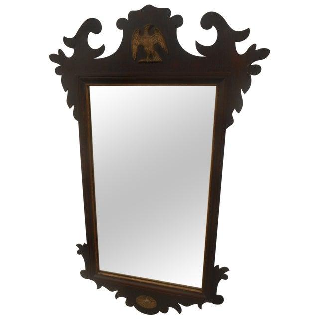 Antique Large Federal Eagle Crest Gold Gilt Mirror - Image 1 of 6