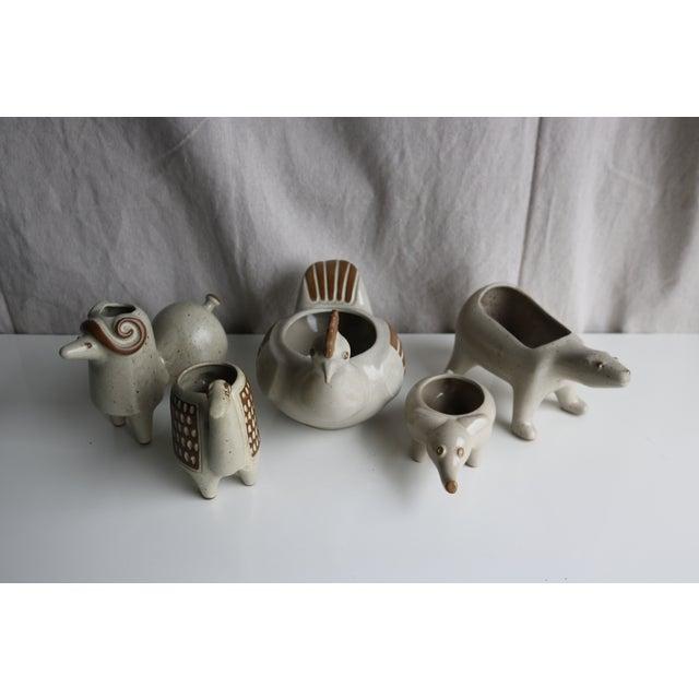 David Stewart Ceramic Animal Planters - Image 3 of 8