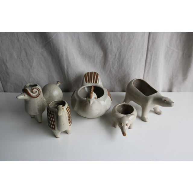 Image of David Stewart Ceramic Animal Planters