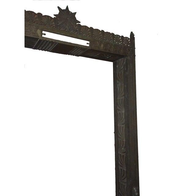 Image of Art Deco Bronze/Brass Elevator Door Frame