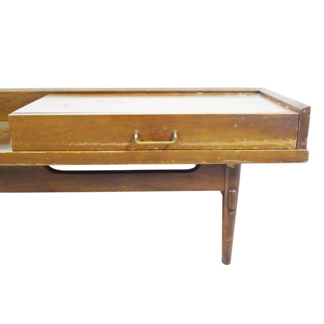 American of Martinsville Coffee Table Bench - Image 3 of 10
