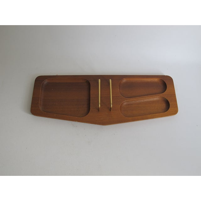 Handcrafted Mission Desk Tray - Image 5 of 7