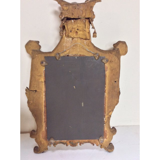 18th Century French Tassel Mirror - Image 8 of 11