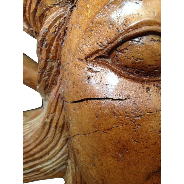 Hand-Carved Root Sculpture - Image 4 of 6