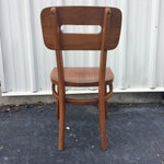 Image of Mid-Century Walnut Chair by Boling Chair Company