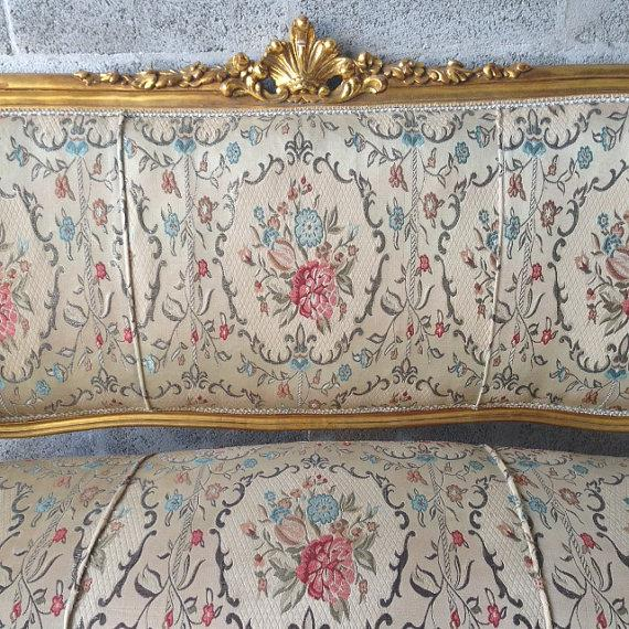 French Sofa in Louis XVI Style - Image 3 of 5
