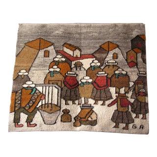 Handmade Peruvian Wall Hanging