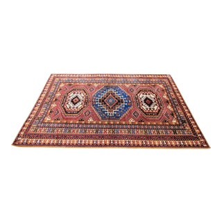 Antique Moroccan Hand Knotted Rug - 6'5 X 9'8