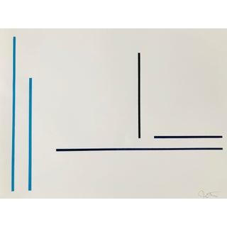 "Jason Trotter Original Acrylic Painting ""Line Configuration JET0477"""