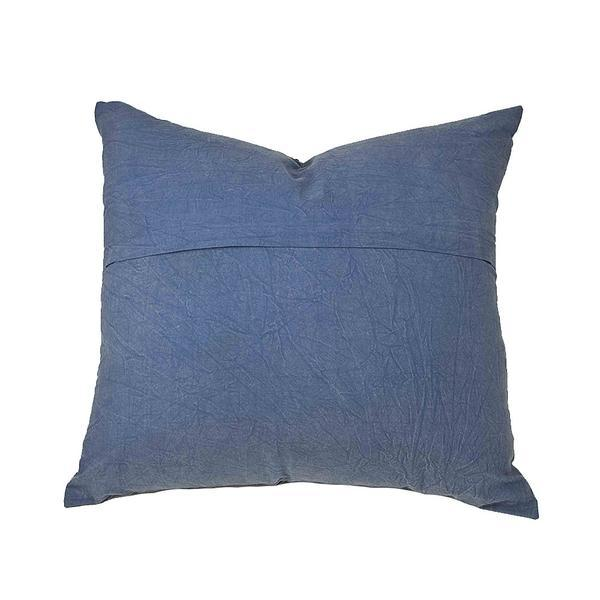 Navy Applique Pillow - Image 2 of 2