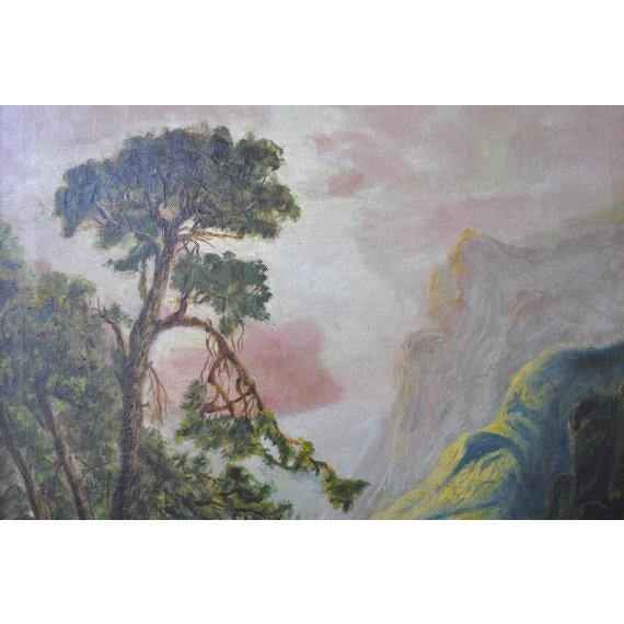 Louise Pickard - Oil on Canvas - Landscape C. 1910 - Image 3 of 5