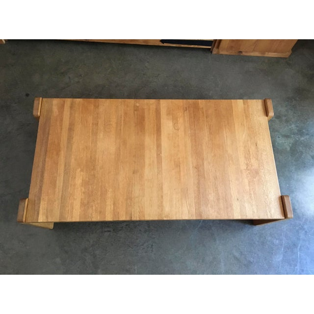 Danish Modern Wooden Coffee Table - Image 7 of 7