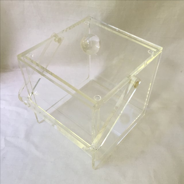 Vintage Lucite Ice Bucket - Image 3 of 6