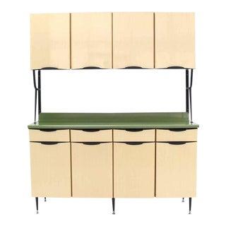 Mid-Century Italian Modern Kitchen Cabinet