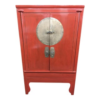Antique Chinese Wedding Armoire