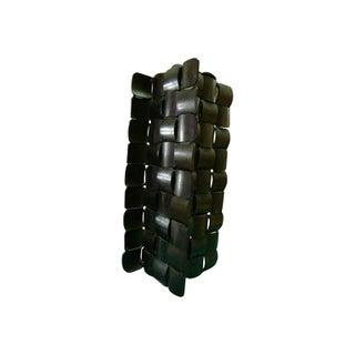 Brutalist Industrial Sculpture Lamp Base