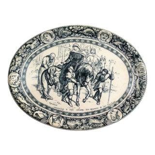 Antique Wedgwood Ivanhoe Platter