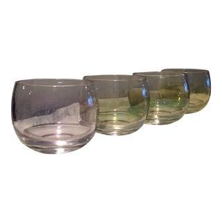 Mid-Century Irridesent Glasses - Set of 4