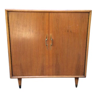 Mid-Century Modern Lane Cedar Cabinet