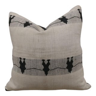 Hand-Loomed Tribal Down Pillow