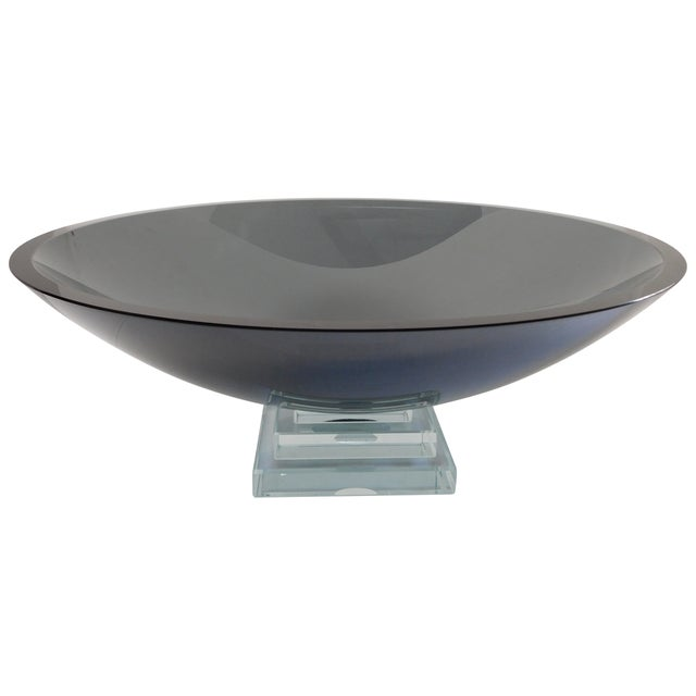 Stephen Schlanser Glass Bowl - Image 1 of 3