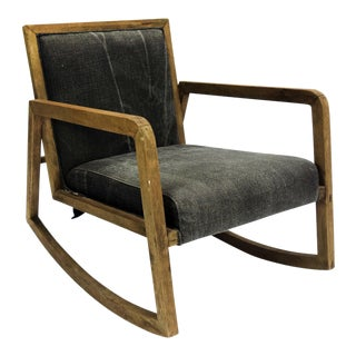 Modern Craftsman Rocking Chair